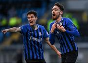 31 October 2020; Dean George of Athlone Town celebrates after scoring his side's fourth goal during the Extra.ie FAI Cup Quarter-Final match between Athlone Town and Shelbourne at the Athlone Town Stadium in Athlone, Westmeath. Photo by Harry Murphy/Sportsfile