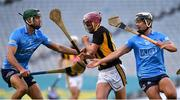 31 October 2020; Ciaran Wallace of Kilkenny in action against Chris Crummey, left, and Cian Boland of Dublin during the Leinster GAA Hurling Senior Championship Semi-Final match between Dublin and Kilkenny at Croke Park in Dublin. Photo by Daire Brennan/Sportsfile