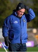 31 October 2020; Monaghan manager Séamus McEnaney during the Ulster GAA Football Senior Championship Preliminary Round match between Monaghan and Cavan at St Tiernach's Park in Clones, Monaghan. Photo by Stephen McCarthy/Sportsfile