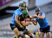 31 October 2020; Eoin Cody of Kilkenny in action against James Madden, left, and Conor Burke of Dublin during the Leinster GAA Hurling Senior Championship Semi-Final match between Dublin and Kilkenny at Croke Park in Dublin. Photo by Daire Brennan/Sportsfile