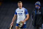 31 October 2020; Calum Lyons, left, and Pauric Mahony of Waterford leave the pitch after the Munster GAA Hurling Senior Championship Semi-Final match between Cork and Waterford at Semple Stadium in Thurles, Tipperary. Photo by Brendan Moran/Sportsfile