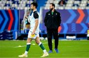 31 October 2020; Ireland head coach Andy Farrell prior to the Guinness Six Nations Rugby Championship match between France and Ireland at Stade de France in Paris, France. Photo by Sandra Ruhaut/Sportsfile