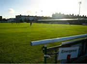 31 October 2020; A general view of the Carlisle Grounds prior to the SSE Airtricity League First Division Play-off Semi-Final match between Bray Wanderers and Galway United at the Carlisle Grounds in Bray, Wicklow. Photo by Eóin Noonan/Sportsfile