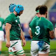 31 October 2020; Tadhg Beirne of Ireland during the Guinness Six Nations Rugby Championship match between France and Ireland at Stade de France in Paris, France. Photo by Sportsfile