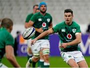31 October 2020; Jonathan Sexton of Ireland during the Guinness Six Nations Rugby Championship match between France and Ireland at Stade de France in Paris, France. Photo by Sportsfile