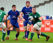 31 October 2020; Ed Byrne of Ireland during the Guinness Six Nations Rugby Championship match between France and Ireland at Stade de France in Paris, France. Photo by Sandra Ruhaut/Sportsfile