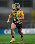 31 October 2020; Conor McDonald of Wexford during the Leinster GAA Hurling Senior Championship Semi-Final match between Galway and Wexford at Croke Park in Dublin. Photo by Ramsey Cardy/Sportsfile