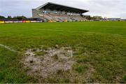 1 November 2020; A general view of the goal area ahead of the Connacht GAA Football Senior Championship Quarter-Final match between Leitrim and Mayo at Avantcard Páirc Sean Mac Diarmada in Carrick-on-Shannon, Leitrim. Photo by Ramsey Cardy/Sportsfile