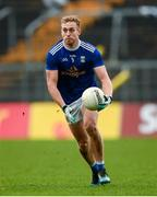 31 October 2020; Padraig Faulkner of Cavan during the Ulster GAA Football Senior Championship Preliminary Round match between Monaghan and Cavan at St Tiernach's Park in Clones, Monaghan. Photo by Stephen McCarthy/Sportsfile
