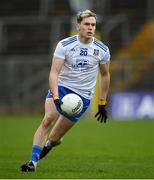 31 October 2020; Niall Kearns of Monaghan during the Ulster GAA Football Senior Championship Preliminary Round match between Monaghan and Cavan at St Tiernach's Park in Clones, Monaghan. Photo by Stephen McCarthy/Sportsfile