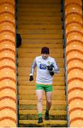 1 November 2020; Jamie Brennan of Donegal prior to the Ulster GAA Football Senior Championship Quarter-Final match between Donegal and Tyrone at MacCumhaill Park in Ballybofey, Donegal. Photo by Stephen McCarthy/Sportsfile