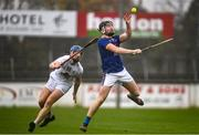 1 November 2020; Warren Kavanagh of Wicklow in action against Shane Ryan of Kildare during the Christy Ring Cup Round 2A match between Kildare and Wicklow at St Conleth's Park in Newbridge, Kildare. Photo by Sam Barnes/Sportsfile