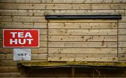 1 November 2020; A view of the closed tea hut prior to the Ulster GAA Football Senior Championship Quarter-Final match between Derry and Armagh at Celtic Park in Derry. Photo by David Fitzgerald/Sportsfile