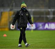 1 November 2020; Donegal manager Declan Bonner prior to the Ulster GAA Football Senior Championship Quarter-Final match between Donegal and Tyrone at Pairc MacCumhaill in Ballybofey, Donegal. Photo by Harry Murphy/Sportsfile
