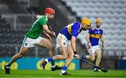 1 November 2020; Séamus Callanan of Tipperary in action against Barry Nash of Limerick during the Munster GAA Hurling Senior Championship Semi-Final match between Tipperary and Limerick at Páirc Uí Chaoimh in Cork. Photo by Daire Brennan/Sportsfile