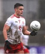 1 November 2020; Michael McKernan of Tyrone during the Ulster GAA Football Senior Championship Quarter-Final match between Donegal and Tyrone at Pairc MacCumhaill in Ballybofey, Donegal. Photo by Harry Murphy/Sportsfile