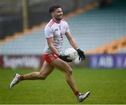 1 November 2020; Tiernan McCann of Tyrone during the Ulster GAA Football Senior Championship Quarter-Final match between Donegal and Tyrone at Pairc MacCumhaill in Ballybofey, Donegal. Photo by Harry Murphy/Sportsfile