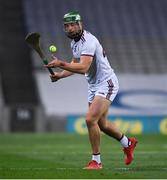 31 October 2020; Niall Burke of Galway during the Leinster GAA Hurling Senior Championship Semi-Final match between Galway and Wexford at Croke Park in Dublin. Photo by Ray McManus/Sportsfile