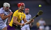 31 October 2020; Lee Chin of Wexford in action against Gearóid McInerney of Galway during the Leinster GAA Hurling Senior Championship Semi-Final match between Galway and Wexford at Croke Park in Dublin. Photo by Ray McManus/Sportsfile