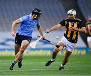 31 October 2020; Mark Schutte of Dublin in action against Padraig Walsh of Kilkenny during the Leinster GAA Hurling Senior Championship Semi-Final match between Dublin and Kilkenny at Croke Park in Dublin. Photo by Ray McManus/Sportsfile