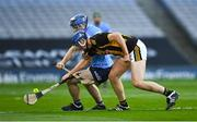 31 October 2020; John Donnelly of Kilkenny in action against Conor Burke of Dublin during the Leinster GAA Hurling Senior Championship Semi-Final match between Dublin and Kilkenny at Croke Park in Dublin. Photo by Ray McManus/Sportsfile