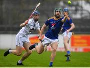 1 November 2020; Michael Boland of Wicklow in action against Shane Ryan of Kildare during the Christy Ring Cup Round 2A match between Kildare and Wicklow at St Conleth's Park in Newbridge, Kildare. Photo by Sam Barnes/Sportsfile