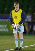 2 November 2020; David Hawkshaw of Leinster during the warm up prior to the Guinness PRO14 match between Glasgow Warriors and Leinster at Scotstoun Stadium in Glasgow, Scotland. Photo by Ross Parker/Sportsfile