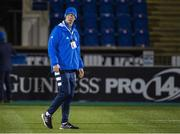 2 November 2020: Leinster head coach Leo Cullen prior to the Guinness PRO14 match between Glasgow Warriors and Leinster at Scotstoun Stadium in Glasgow, Scotland. Photo by Ross Parker/Sportsfile