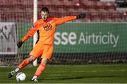 1 November 2020; Brendan Clarke of St Patrick's Athletic during the SSE Airtricity League Premier Division match between St. Patrick's Athletic and Dundalk at Richmond Park in Dublin. Photo by Michael P Ryan/Sportsfile