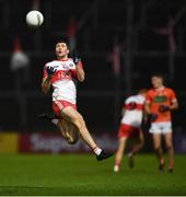 1 November 2020; Ciaran McFaul of Derry during the Ulster GAA Football Senior Championship Quarter-Final match between Derry and Armagh at Celtic Park in Derry. Photo by David Fitzgerald/Sportsfile