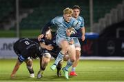 2 November 2020; Tommy O'Brien of Leinster in action during the Guinness PRO14 match between Glasgow Warriors and Leinster at Scotstoun Stadium in Glasgow, Scotland. Photo by Ross Parker/Sportsfile