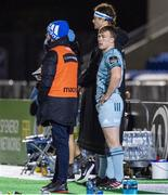 2 November 2020: David Hawkshaw makes his Leinster debut during the Guinness PRO14 match between Glasgow Warriors and Leinster at Scotstoun Stadium in Glasgow, Scotland. Photo by Ross Parker/Sportsfile