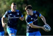 6 November 2020; Dan Sheehan, right, and Ross Molony during Leinster Rugby squad training at UCD in Dublin. Photo by Ramsey Cardy/Sportsfile
