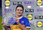 6 November 2020; Roisin Howard of Tipperary with the Player of the Match award following the TG4 All-Ireland Ladies Senior Football Championship Fixture between Monaghan and Tipperary, at Parnell Park, Dublin.  Photo by Eóin Noonan/Sportsfile