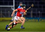 7 November 2020; Mark Coleman of Cork in action against Donal Burke of Dublin during the GAA Hurling All-Ireland Senior Championship Qualifier Round 1 match between Dublin and Cork at Semple Stadium in Thurles, Tipperary. Photo by Ray McManus/Sportsfile