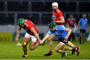 7 November 2020; Patrick Horgan of Cork in action against James Madden of Dublin during the GAA Hurling All-Ireland Senior Championship Qualifier Round 1 match between Dublin and Cork at Semple Stadium in Thurles, Tipperary. Photo by Daire Brennan/Sportsfile