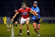 7 November 2020; Mark Coleman of Cork in action against Cian Boland of Dublin during the GAA Hurling All-Ireland Senior Championship Qualifier Round 1 match between Dublin and Cork at Semple Stadium in Thurles, Tipperary. Photo by Daire Brennan/Sportsfile