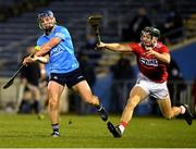 7 November 2020; Davy Keogh of Dublin in action against Mark Coleman of Cork during the GAA Hurling All-Ireland Senior Championship Qualifier Round 1 match between Dublin and Cork at Semple Stadium in Thurles, Tipperary. Photo by Daire Brennan/Sportsfile