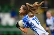 7 November 2020; Katie Murray of Waterford during the TG4 All-Ireland Senior Ladies Football Championship Round 2 match between Dublin and Waterford at Baltinglass GAA Club in Baltinglass, Wicklow. Photo by Stephen McCarthy/Sportsfile