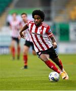 7 November 2020; Walter Figueira of Derry City during the SSE Airtricity League Premier Division match between Shamrock Rovers and Derry City at Tallaght Stadium in Dublin. Photo by Seb Daly/Sportsfile