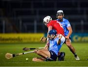 7 November 2020; Patrick Horgan of Cork in action against Eoghan O'Donnell, and Cian Boland of Dublin during the GAA Hurling All-Ireland Senior Championship Qualifier Round 1 match between Dublin and Cork at Semple Stadium in Thurles, Tipperary. Photo by Ray McManus/Sportsfile