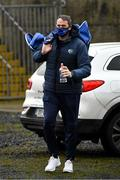 8 November 2020; Laois manager Michael Quirke arrives for the Leinster GAA Football Senior Championship Quarter-Final match between Longford and Laois at Glennon Brothers Pearse Park in Longford. Photo by Ray McManus/Sportsfile