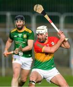 7 November 2020; Chris Nolan of Carlow during the Joe McDonagh Cup Round 3 match between Carlow and Meath at Netwatch Cullen Park in Carlow. Photo by Matt Browne/Sportsfile