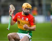 7 November 2020; Cathal Tracey of Carlow during the Joe McDonagh Cup Round 3 match between Carlow and Meath at Netwatch Cullen Park in Carlow. Photo by Matt Browne/Sportsfile