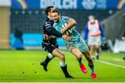 8 November 2020; Dave Kearney of Leinster in action during the Guinness PRO14 match between Ospreys and Leinster at Liberty Stadium in Swansea, Wales. Photo by Aled Llywelyn/Sportsfile