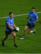 7 November 2020; Ciarán Kilkenny, left, and Dean Rock of Dublin during the Leinster GAA Football Senior Championship Quarter-Final match between Dublin and Westmeath at MW Hire O'Moore Park in Portlaoise, Laois. Photo by David Fitzgerald/Sportsfile