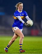 6 November 2020; Emma Morrissey of Tipperary during the TG4 All-Ireland Senior Ladies Football Championship Round 2 match between Monaghan and Tipperary at Parnell Park in Dublin. Photo by Eóin Noonan/Sportsfile