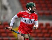 7 November 2020; Sean Cassidy of Derry during the Christy Ring Cup Round 2B match between Derry and Offaly at Páirc Esler in Newry, Down. Photo by Sam Barnes/Sportsfile
