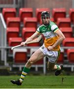 7 November 2020; Colm Gath of Offaly during the Christy Ring Cup Round 2B match between Derry and Offaly at Páirc Esler in Newry, Down. Photo by Sam Barnes/Sportsfile