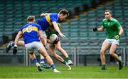 7 November 2020; Gordon Brown of Limerick, supported by team-mate Hugh Bourke, right, in action against Liam Casey and Kevin Fahey, 6, of Tipperary during the Munster GAA Football Senior Championship Semi-Final match between Limerick and Tipperary at LIT Gaelic Grounds in Limerick. Photo by Piaras Ó Mídheach/Sportsfile